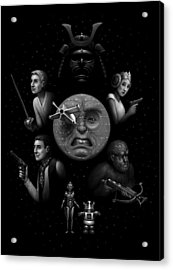 Ye Olde Space Movie Acrylic Print