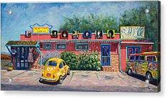 Ye Ole Hippie Emporium Acrylic Print by Patty Kay Hall