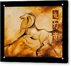 Year Of The Horse 1 Print Acrylic Print