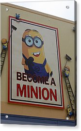 Year Of The Minions Acrylic Print