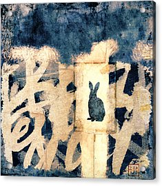 Year Of The Rabbit No. 3 Acrylic Print by Carol Leigh