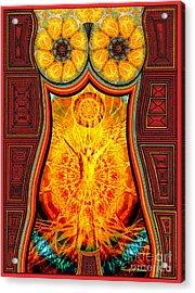 Yearning-spirit Rising Acrylic Print
