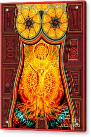 Yearning-spirit Rising Acrylic Print by Joseph J Stevens