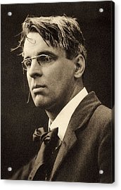 Yeats, William Butler 1865-1939. � Acrylic Print by Everett