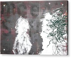 Acrylic Print featuring the painting Yelling At You Yelling At Me 1986 by Paul Ashby