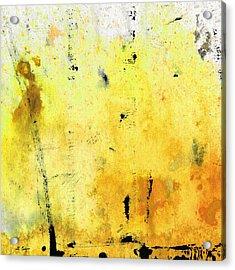 Yellow Abstract Art - Lemon Haze - By Sharon Cummings Acrylic Print by Sharon Cummings