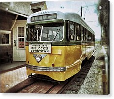 Yellow Car - Los Angeles Acrylic Print