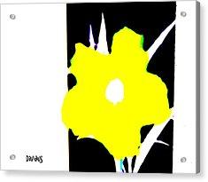Yellow Jack W Logo Acrylic Print