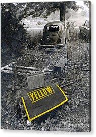 Yellow Acrylic Print by   Joe Beasley