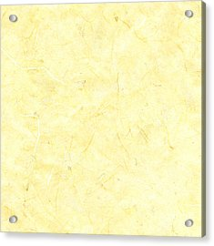 Yellow Marble Background Acrylic Print by Jeff Venier