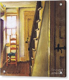 Acrylic Print featuring the painting Yellow Room by Susan Herbst