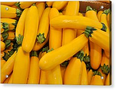 Yellow Summer Squash Acrylic Print