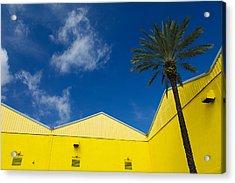 Yellow Warehouse Acrylic Print