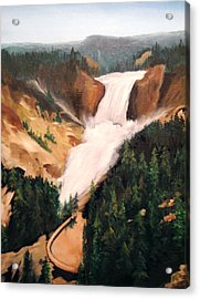 Yellowstone Acrylic Print