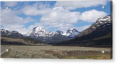 Yellowstone Park Acrylic Print by Kenneth Cole