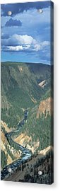 Yellowstone River, Yellowstone National Acrylic Print by Panoramic Images