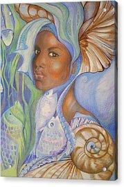 Yemoja Acrylic Print