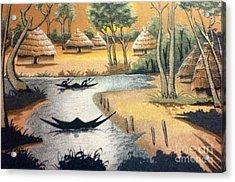 Yesayah Village  Acrylic Print
