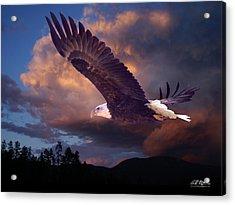 Yeshua Is Calling Acrylic Print by Bill Stephens