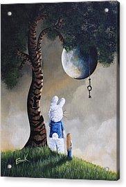 Alice In Wonderland Artwork - Fairytale Paintings Acrylic Print by Shawna Erback