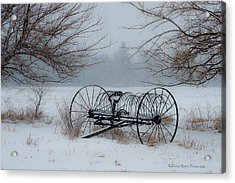 Yesterday Acrylic Print by Sheen Watkins