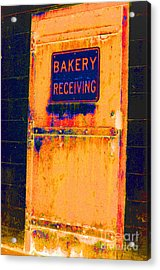 Yesterday's Bread Acrylic Print by Christiane Hellner-OBrien