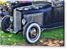 Yesterdays Hot Rod Acrylic Print by Ron Roberts