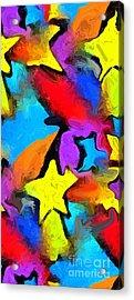 Yesterday's Rainbow Acrylic Print by Chris Butler