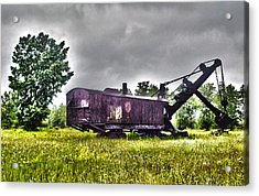 Yesteryear - Hdr Look Acrylic Print