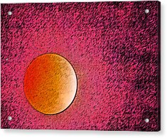 Yet Another Blood Moon Acrylic Print by Carolina Liechtenstein
