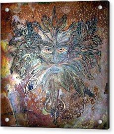 Yggdrasil Rune Greenman Acrylic Print