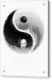 Yin Yang 2 Acrylic Print by Daniel Hagerman