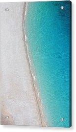 Yin Yang Coast Acrylic Print