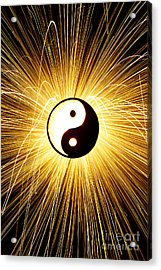 Yin Yang Light Acrylic Print