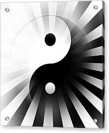 Yin Yang Power Acrylic Print by Daniel Hagerman