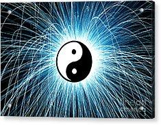 Yin Yang Acrylic Print
