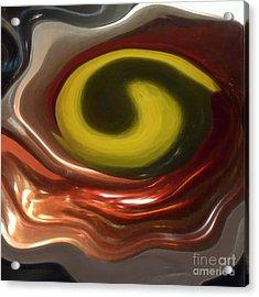 Yinged Acrylic Print