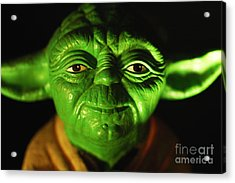 Yoda Acrylic Print by Micah May
