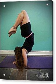 Yoga Study 10 Acrylic Print