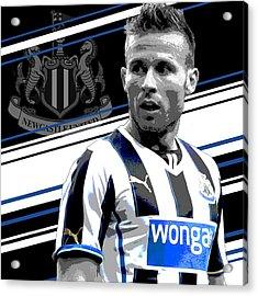 Yohan Cabaye Newcastle United Print Acrylic Print