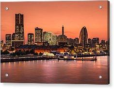 Yokohama 02 Acrylic Print by Tom Uhlenberg