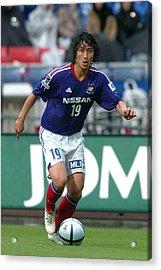 Yokohama F. Marinos V Urawa Red Diamonds - J.league 2005 Acrylic Print by Etsuo Hara