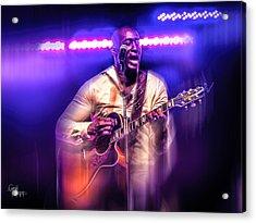 Acrylic Print featuring the photograph Yonkers Riverfest - Jermaine Paul  by Glenn Feron