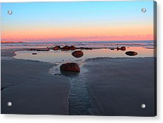 York Beach Acrylic Print by Andrea Galiffi