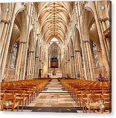 York Minster I Acrylic Print by Jack Torcello