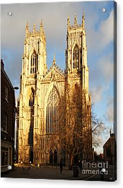 York Minster Acrylic Print by Neil Finnemore
