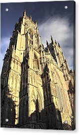 Acrylic Print featuring the photograph York Minster  by Stewart Scott