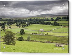 Yorkshire Dales Acrylic Print by Colin and Linda McKie