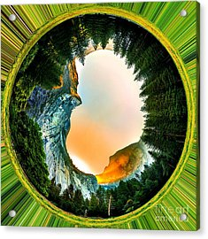 Yosemite Circagraph Acrylic Print
