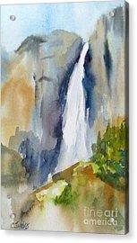 Yosemite Falls Springtime Acrylic Print